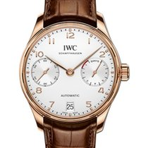 IWC Schaffhausen IW500701 Portugieser Automatic Silver Plated...