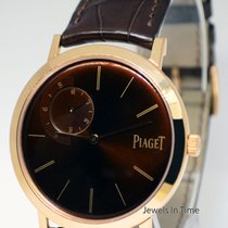 Piaget Altiplano 18k Rose Gold Mens Limited Mechanical Wind...