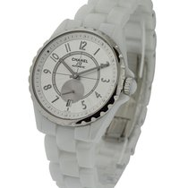 Chanel H3837 J12 36mm H3837 in White Ceramic - on Bracelet...