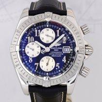 百年靈 (Breitling) Chronomat Evolution 44 mm black Dial Steel...