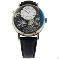 Breguet Tradition GMT Manual Wind 40mm 7067bb/g1/9w6 White Gold
