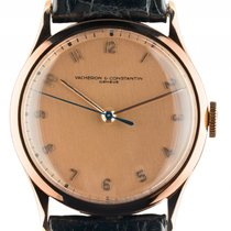Vacheron Constantin 18kt Roségold Handaufzug Armband Leder...