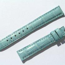 Chopard Croco Band Strap Blue 14 Mm 70/105 New C14-012 -70%