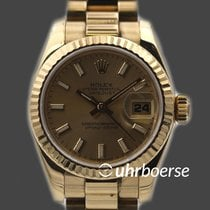 Rolex Oyster Perpetual Datejust Gelbgold 18kt  179178 Automatik