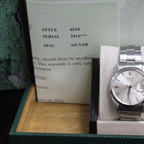 Rolex Oyster Perpetual Date 6534 Stainless Steel Roulette Date