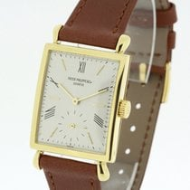 "Patek Philippe solid 18K Yellow Gold Watch 1576 Cal. 9""90..."