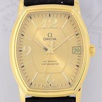 Omega De-Ville Prestige Tonneau Dresswatch 18K Gold Klassiker rar