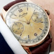 百年靈 (Breitling) Breitling Vintage Chronograph in 18 karat Rotgold