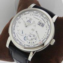 A. Lange & Söhne Lange 1 Time Zone 18k White Gold NEW 116.039