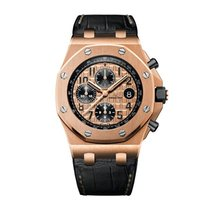 Audemars Piguet Royal Oak Off Shore Rose Gold Leather - 26470 Or