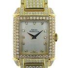 Girard Perregaux Vintage Yellow Gold Diamond Pave 2592