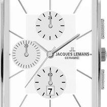 Jacques Lemans York 1-1817B Herrenchronograph Mit Keramikeleme...