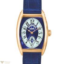 Franck Muller Cintre Curvex Chronometro Lady Blue Dial 18K...