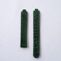 Ebel Lederarmband Kroko grün 12mm o. Faltschließe