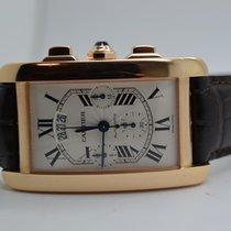 Cartier Tank Americaine XL Chronograph 18k Roségold