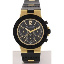 Bulgari Men's  Diagono 18k Yellow Gold Automatic AC38G
