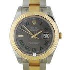 勞力士 (Rolex) 116333 Datejust II 41 SS/YG Grey Roman Dial