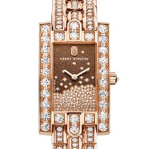 Harry Winston Avenue Diamond Drops Rose Gold Ref AVEQHM21RR121