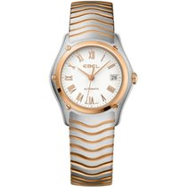 Ebel Classic Lady Wave Automatik Stahl/Rosègold NEW