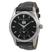 Frederique Constant Clear Vision Automatic Black Dial Mens Watch