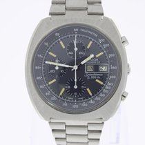 Omega Speedsonic f300Hz Chronograph anthrazit dial NEW OLD STOCK