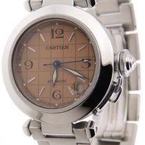 Cartier Pasha C 2324 Stainless Steel Automatic 35mm Salmon...