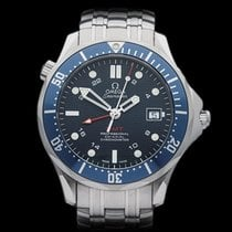 Omega Seamaster GMT Stainless Steel Gents 2535.80.00