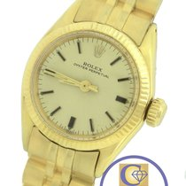 Rolex Oyster Perpetual 6619 Yellow Gold Jubilee 24mm 6719 Watch