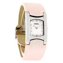 Ebel Beluga Manchette Ladies Pink Satin Strap Watch 9057A21/19...