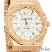 Audemars Piguet Royal Oak 18k Rose Gold Automatic Watch...