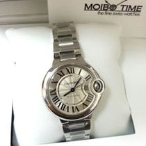 Cartier W6920071 Stainless Steel Ballon Bleu Big Size 33mm [NEW]