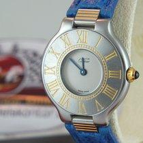 Cartier Must 21 EINZELSTÜCK mit Box / Neue Revision / Tresoruhr