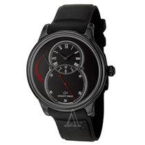 Jaquet-Droz Men's Grande Seconde Power Reserve Ceramic Watch