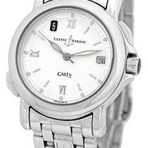 Ulysse Nardin Gent's Stainless Steel  San Marco Dual Time...