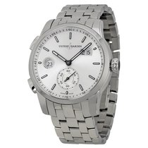 Ulysse Nardin Dual Time Automatic Silver Dial Stainless Steel...