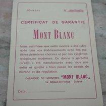 Montblanc vintage warranty  booklet rare newoldstock
