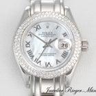 Rolex Datejust Pearlmaster Weissgold 750 Diamanten Date Just