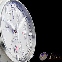 IWC Pilot Spitfire Ju-Air Silber-Zifferblatt Chronograph 43mm...