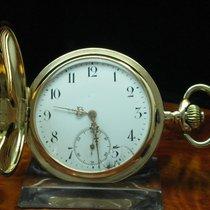 Glashütte Original System  14kt 585 3 Deckel Gold Savonette...