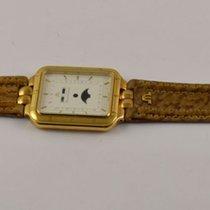 Maurice Lacroix Leder Armband Bracelet Mit Gehäuse Vergoldet Rar