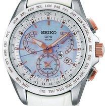 Seiko SSE063J1 Astron GPS Solar Dual-Time Titanium 45mm 10ATM