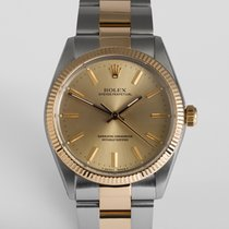 Rolex Oyster Perpetual 34mm Gold & Steel