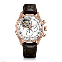 Zenith El Primero Tourbillon Rose Gold Men's Watch