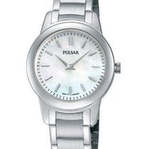 Pulsar Ladies Basic Watch - Mother-of-Pearl Dial - Steel Case...