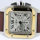 Cartier Santos 100 XL Chronograph 18K Gold