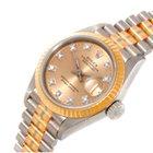 Rolex PRESIDENT TRIDOR 18K GOLD DIAMOND LADIES WATCH 69179B