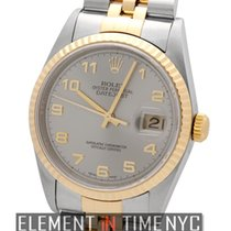 Rolex Datejust Steel / Yellow Gold 2000 Slate Dial 36mm Ref....