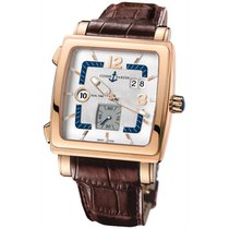 Ulysse Nardin Quadrato Dual Time 18K Solid Rose Gold