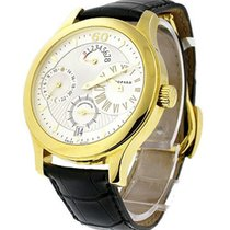 Chopard 16/1874 LUC Quadratto Regulateur - YellowGold - Yellow...