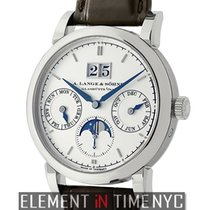 A. Lange &  Sohne Saxonia Annual Calendar Moonphase 39mm...